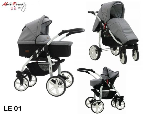 01 Legro Lux 3in1 Pearl Gray & Black