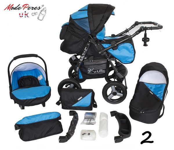 02 Twist 3 in1 Black & Blue
