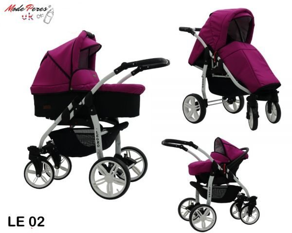 02 Legro Lux 3in1 Violet & Black