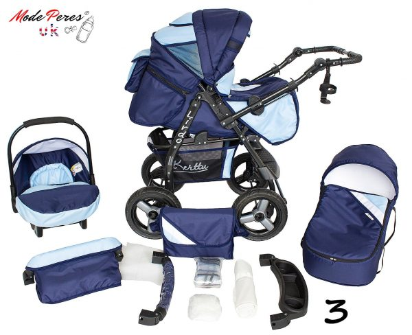 03 Twist 3 in1 Dark Blue & Sky Blue