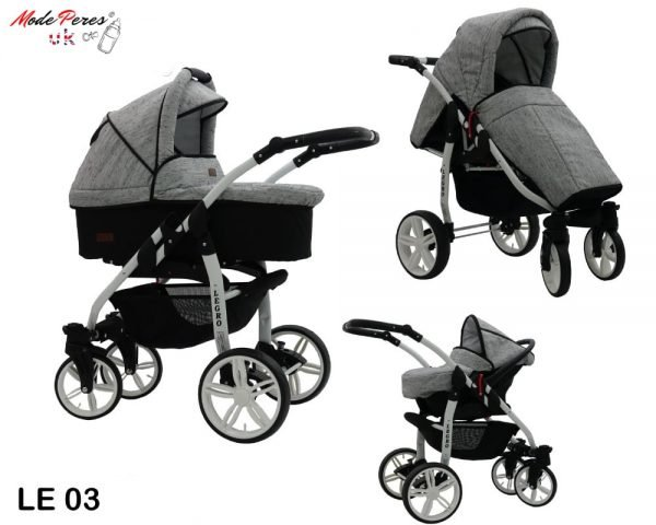 03 Legro Lux 3in1 Gray & Black Dash