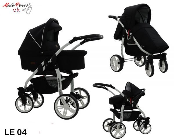 04 Legro Lux 3in1 Black & White Finishes