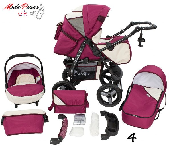 04 Twist 3 in1 Fucsia