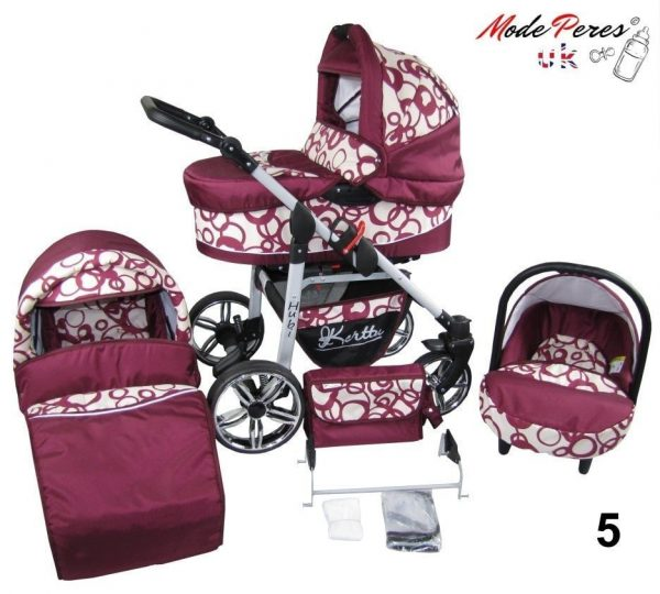 05 Hubi 3in1 Maroon Circle Design