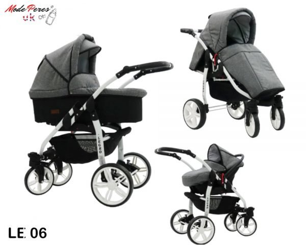 06 Legro Lux 3in1 Stained Grey & Black