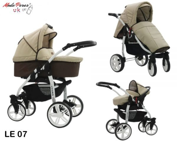07 Legro Lux 3in1 Beige & Brown