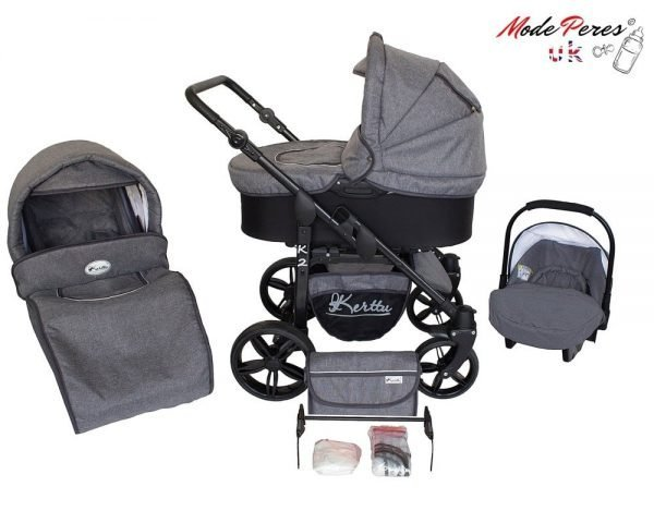 07 K2 sport 3in1 Dark Gray & Black