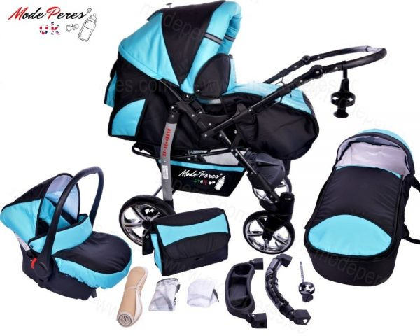 x7 Sportive x2 3in1 Black & Turquoise