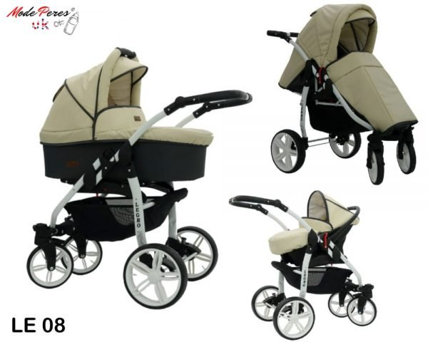 08 Legro Lux 3in1 Beige & Black