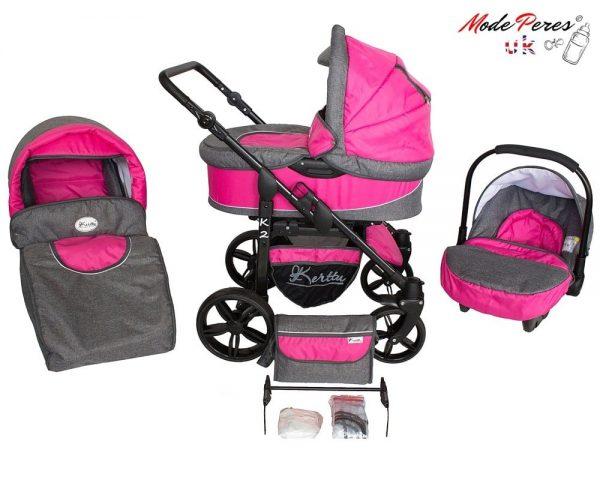 09 K2 sport 3in1 Pink & Gray