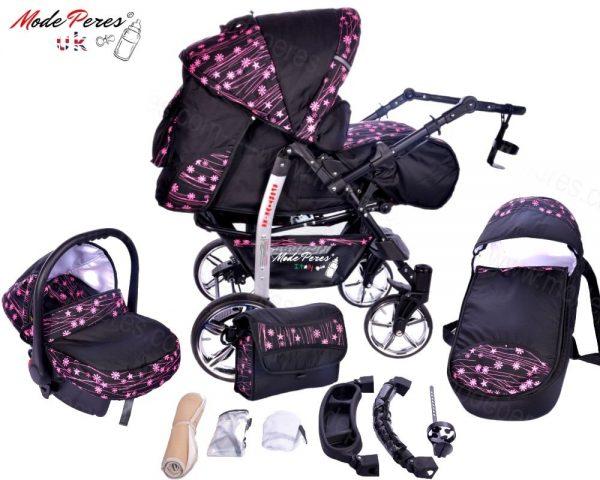 x9 Sportive x2 3in1 Pink Design & Black