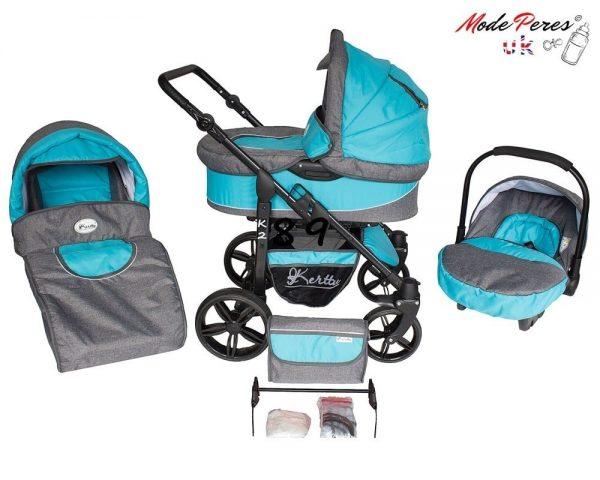 10 K2 sport 3in1 Sky Blue & Gray