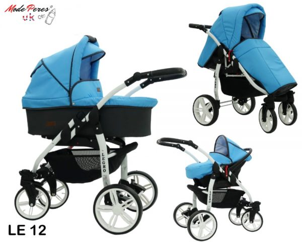 12 Legro Lux 3in1 Light Blue & Black