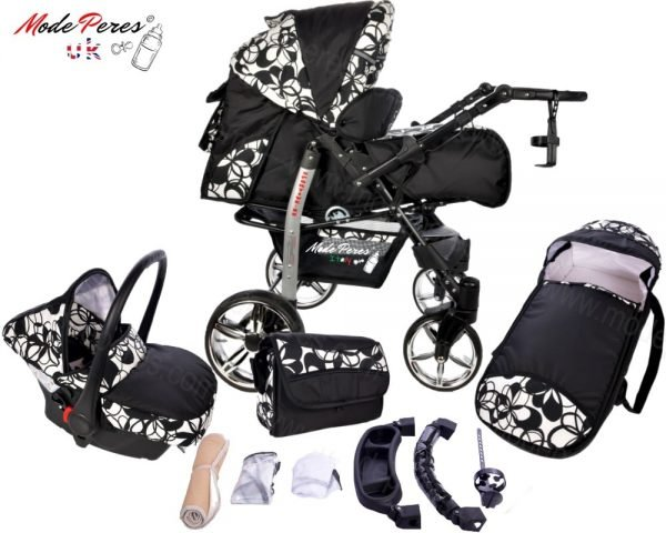 x13 Sportive x2 3in1 Black & White Design