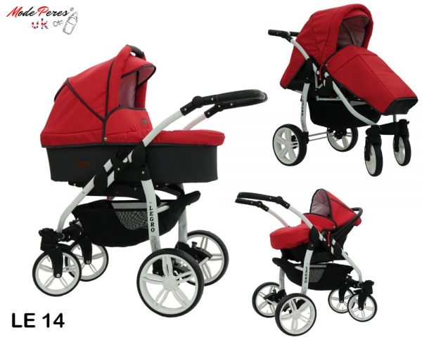 14 Legro Lux 3in1 Red & Black