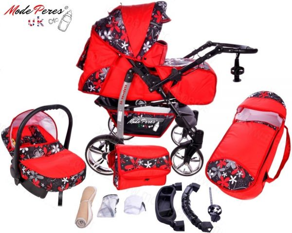 x14 Sportive x2 3in1 Red & Black Design