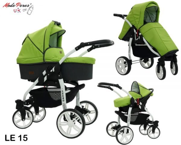 15 Legro Lux 3in1 Green & Dark Grey