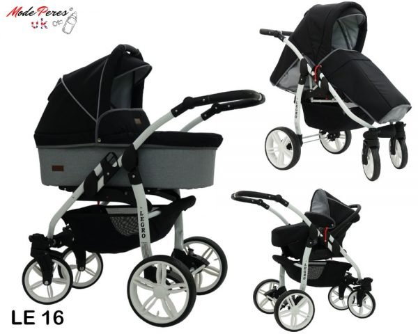 16 Legro Lux 3in1 Black & Grey