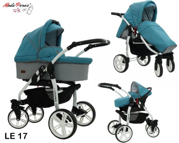 17 Legro Lux 3in1 Blue & Light Grey