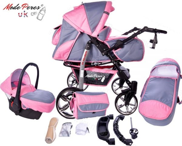 x17 Sportive x2 3in1 Pink & Steel Blue