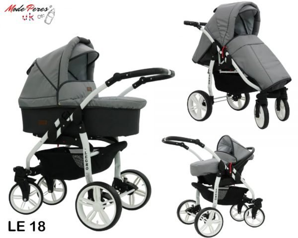18 Legro Lux 3in1 Light & Dark Grey
