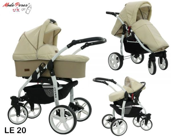 20 Legro Lux 3in1 Beige & Cream