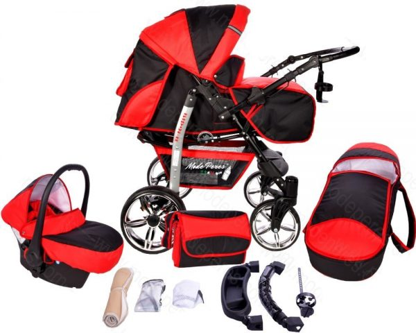 x22 Sportive x2 3in1 Red & Black