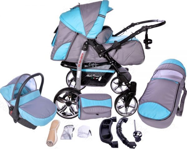 x23 Sportive x2 3in1 Zink & Steel Blue