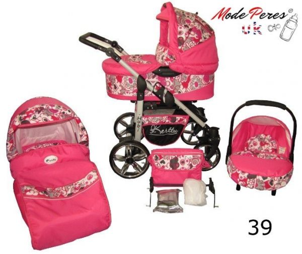 39 Hubi 3in1 Pink Design