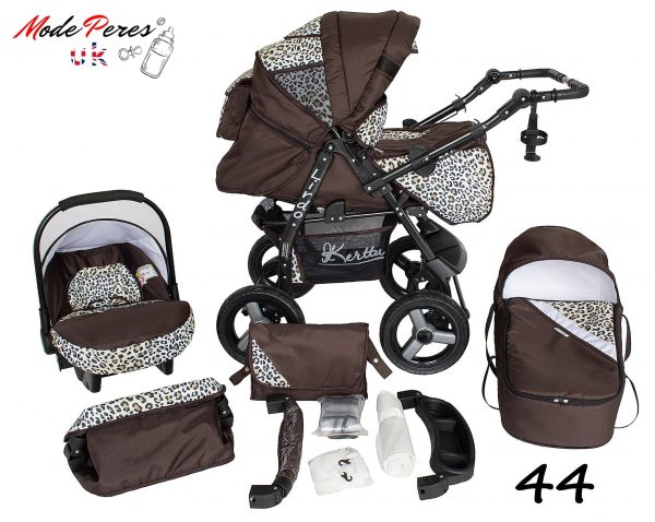 44 Lirdo 3in1 Leopard & Chocolate