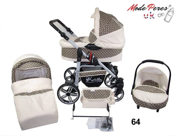 64 Hubi 3in1 Light Beige