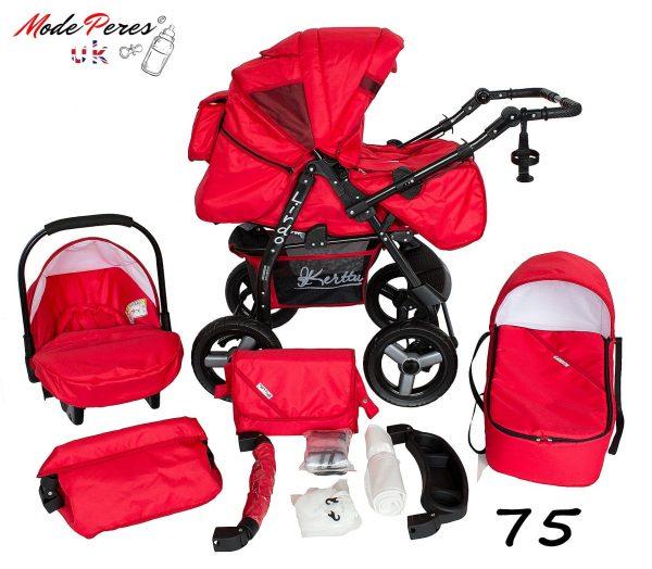 75 Lirdo 3in1 Red