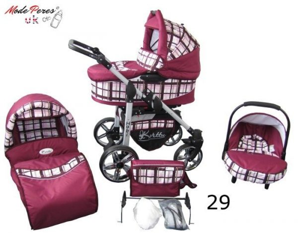 29 Hubi 3in1 Maroon Design