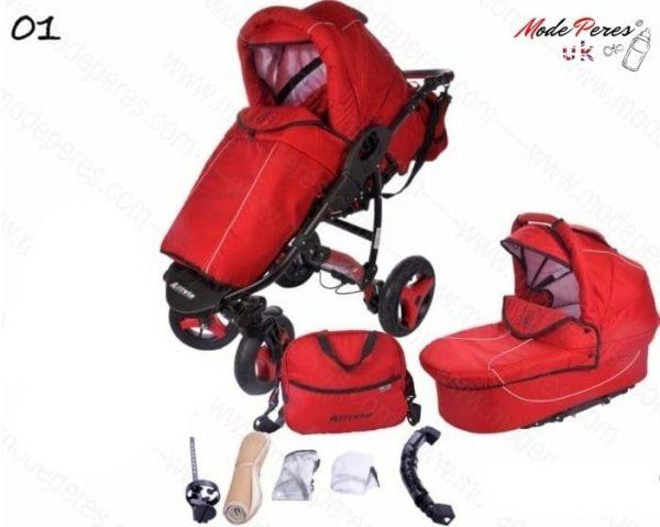 01 Alvio Air 2in1 Red