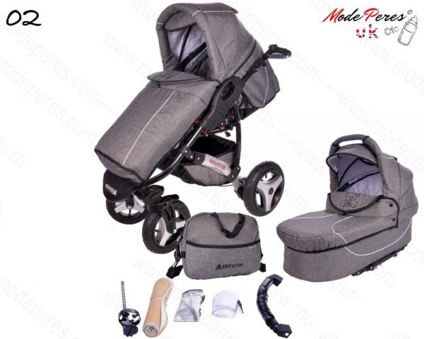 02 Alvio Air 2in1 Dark Gray
