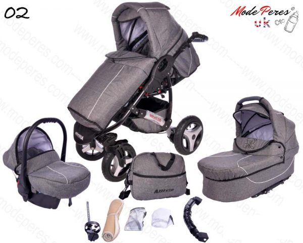 02 Alvio Air 3in1 Dark Gray