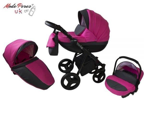 04 Volq 3in1 Shocking Pink & Black