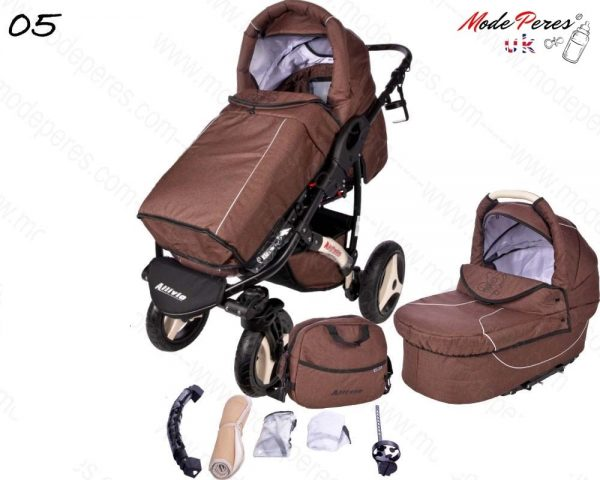 05 Alvio Air 2in1 Dark Brown