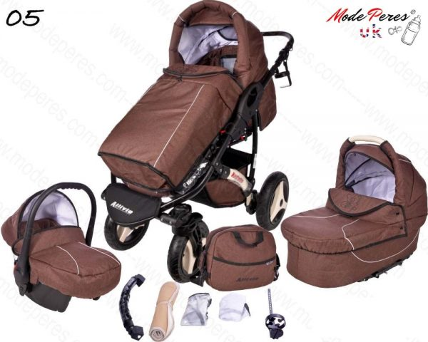 05 Alvio Air 3in1 Dark Brown