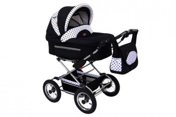 109 Fanari 3in1 Black & Dotted White