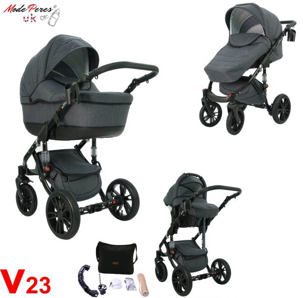 23 VALERO 3in1 Dark Gray
