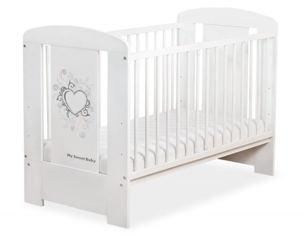 5010-07-389 WITHOUT DRAWER Baby Cot/Cot Bed Chic