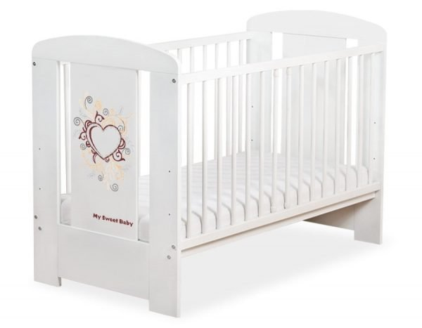 5010-07-390 WITHOUT DRAWER Baby Cot/Cot Bed Chic