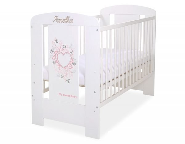 5010-07-394B WITHOUT DRAWER Baby Cot/Cot Bed Chic