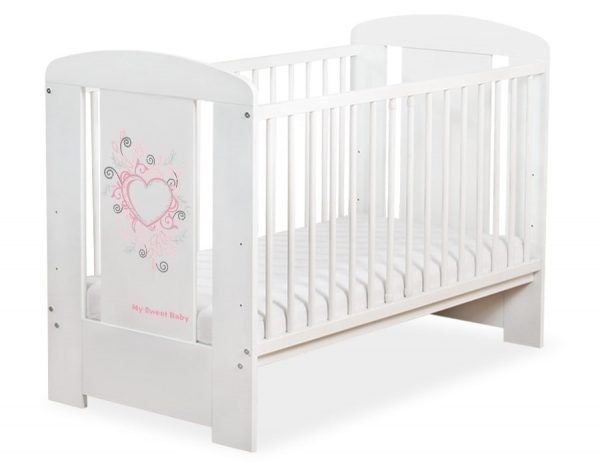 5010-07-394 WITHOUT DRAWER Baby Cot/Cot Bed Chic