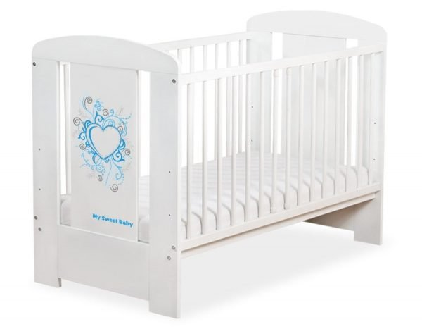 5010-07-396 WITHOUT DRAWER Baby Cot/Cot Bed Chic