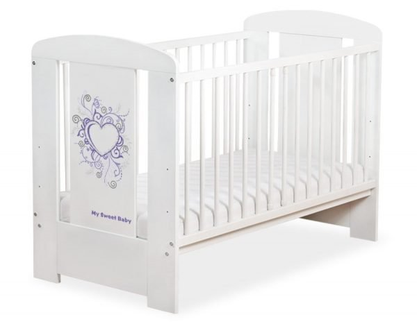 5010-07-398 WITHOUT DRAWER Baby Cot/Cot Bed Chic