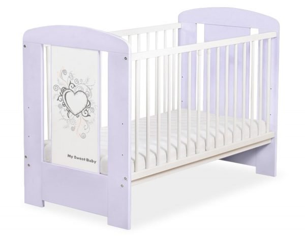 5010-09-1 WITHOUT DRAWER Baby Cot/Cot Bed Chic