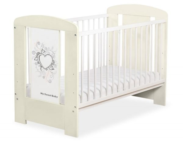 5010-10-1 WITHOUT DRAWER Baby Cot/Cot Bed Chic