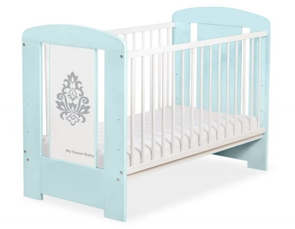 5015-02-1 Without Drawer Baby Cot/Cot Bed Glamour